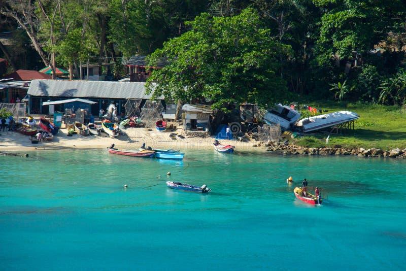 Jamaicaanse Vissers royalty-vrije stock fotografie