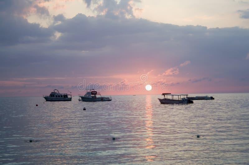Jamaicaanse Zonsondergang stock foto's