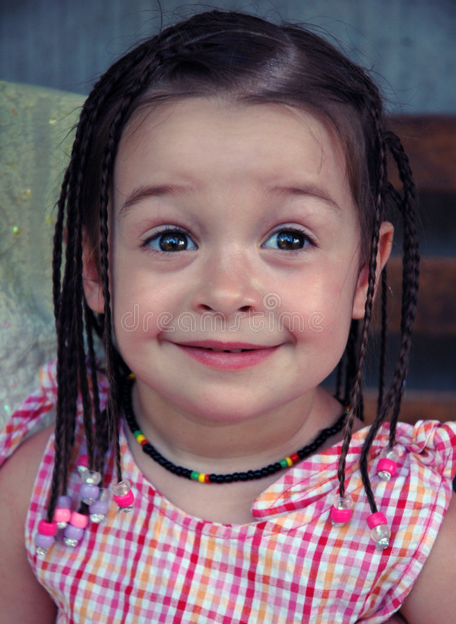 Jamaican Braids royalty free stock images