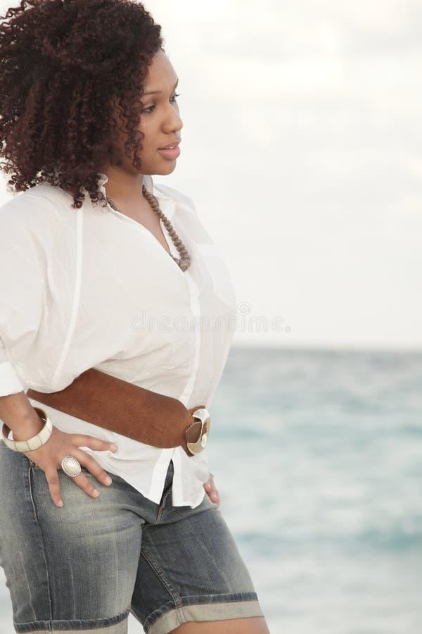 jamaican härlig kvinnlig arkivbilder