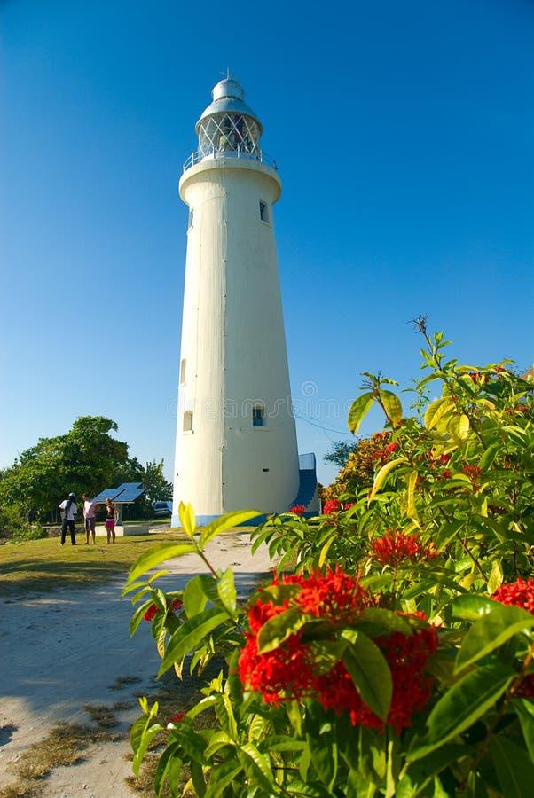 Jamaika-Leuchtturm lizenzfreies stockbild