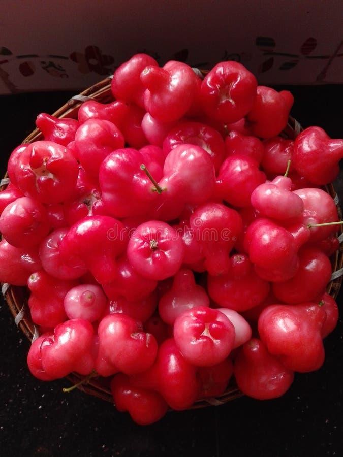 Jambakka of djamboevrucht vers landbouwbedrijf royalty-vrije stock foto