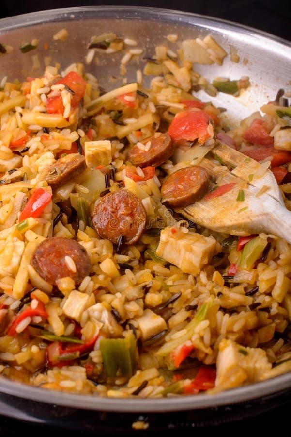 Jambalaya Cajun стоковые изображения