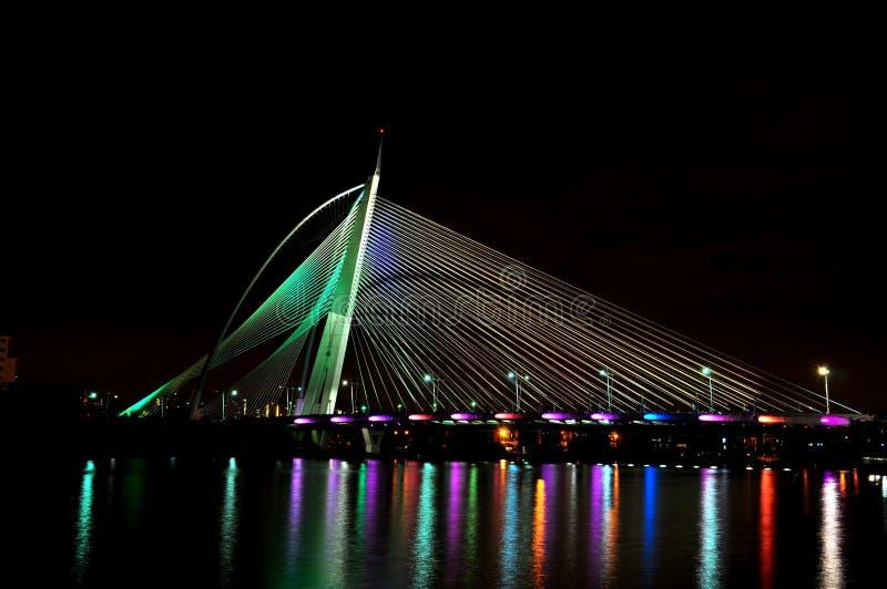 Jambatan Seri Wawasan photos stock