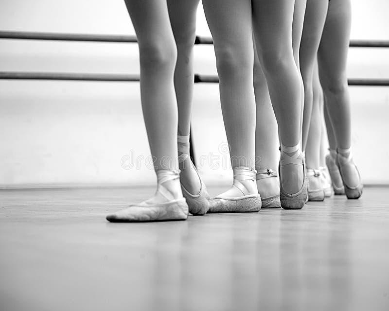 Jambes de ballerine photos libres de droits