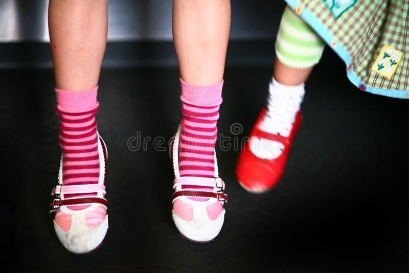 Jambes de fille mignonne photos libres de droits