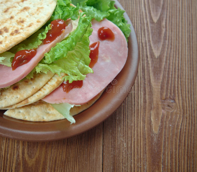 Jambon de Tacos photo stock