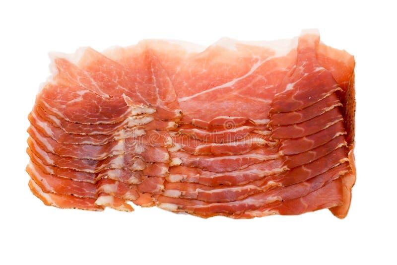 Jambon italien photo stock