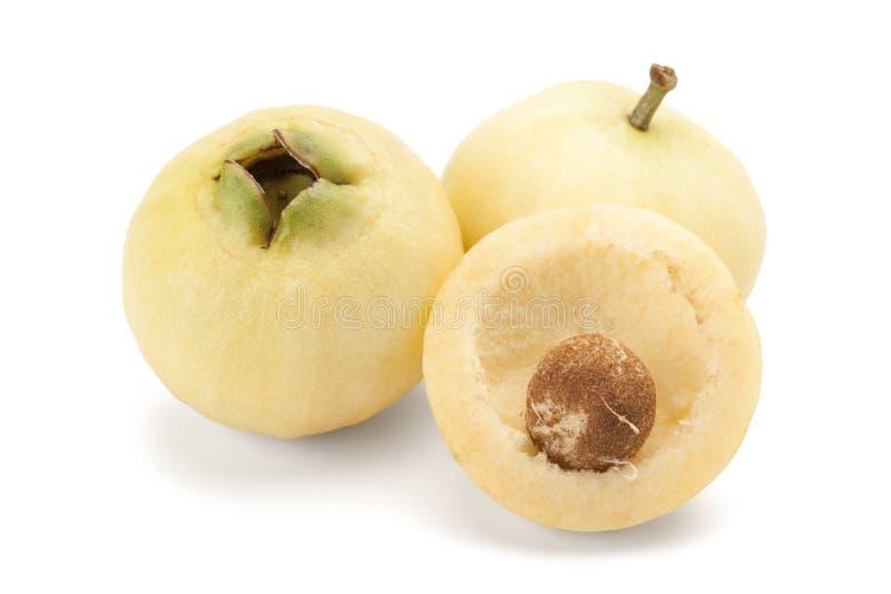 Jambos do Syzygium ou maçã cor-de-rosa fotos de stock