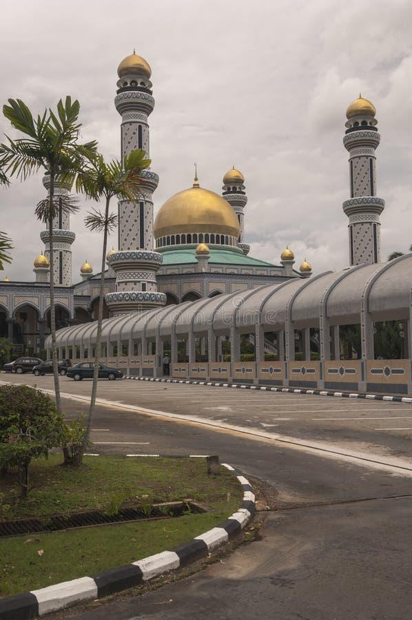 Jame Asr Hassanil Bolkiah Mosque Bandar Seri Begawan, imagens de stock