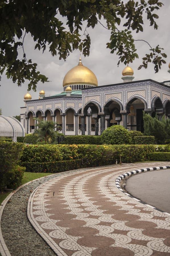 Jame Asr Hassanil Bolkiah Mosque Bandar Seri Begawan, Brunei photos stock