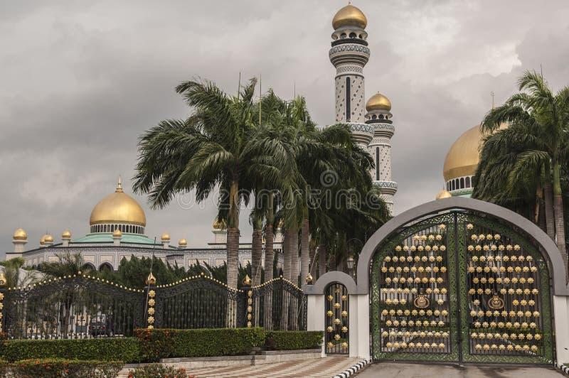 Jame Asr Hassanil Bolkiah Mosque Bandar Seri Begawan, Brunei photos libres de droits