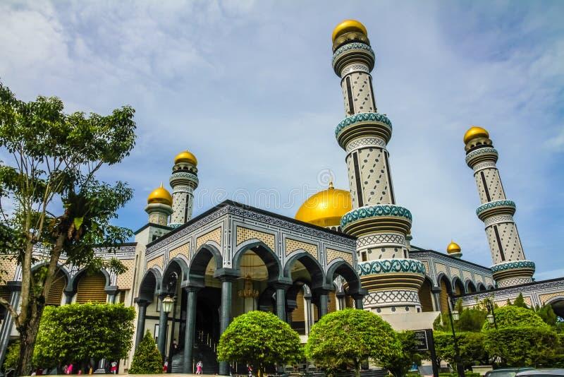 Jame Asr Hassanil Bolkiah Mosque-Brunei, Ásia imagens de stock royalty free