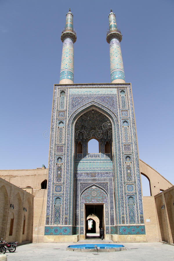 Jame moské royaltyfri bild