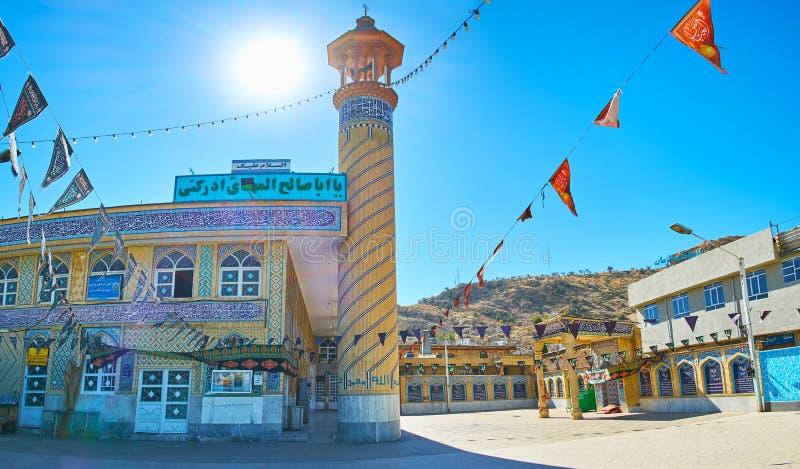 Jamehmoskee, Shiraz, Iran royalty-vrije stock afbeeldingen