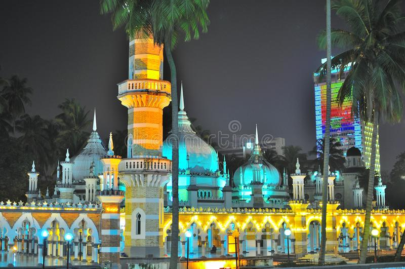 jamek masjid στοκ εικόνες
