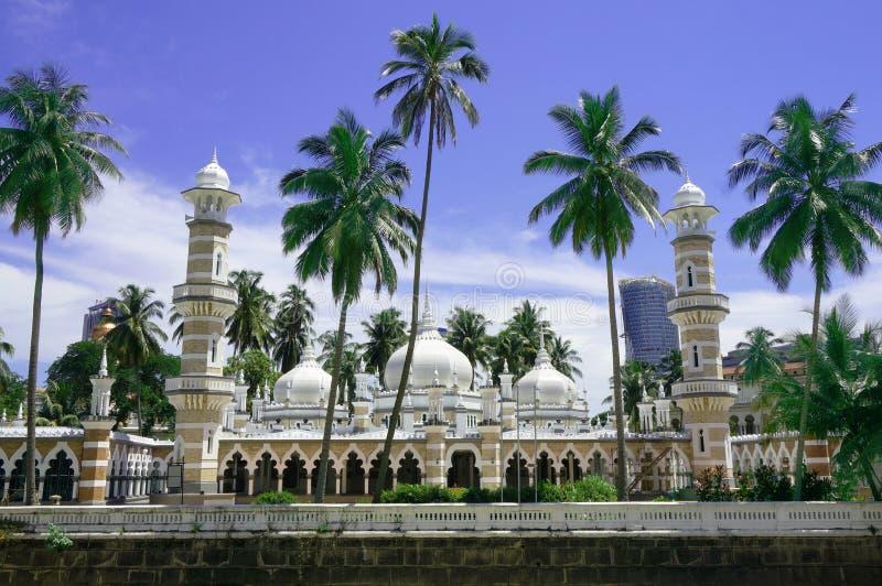 Jamekmoskee (Masjid Jamek) in Kuala Lumpur stock foto