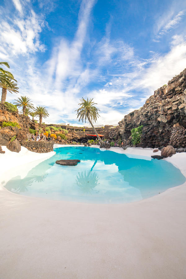 Jameos del Agua, in Lanzarote, Canary Islands, Spain royalty free stock images
