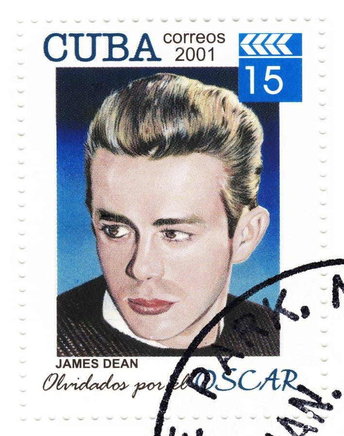 james κοσμητόρων γραμματόσημο στοκ φωτογραφίες