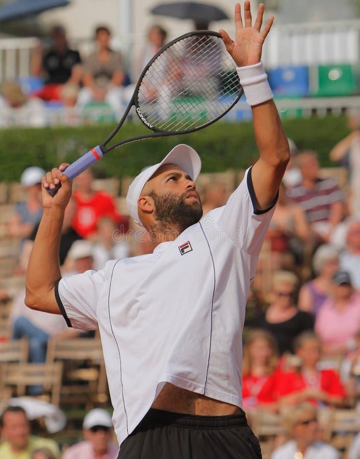 James Blake, tenis 2012 foto de archivo