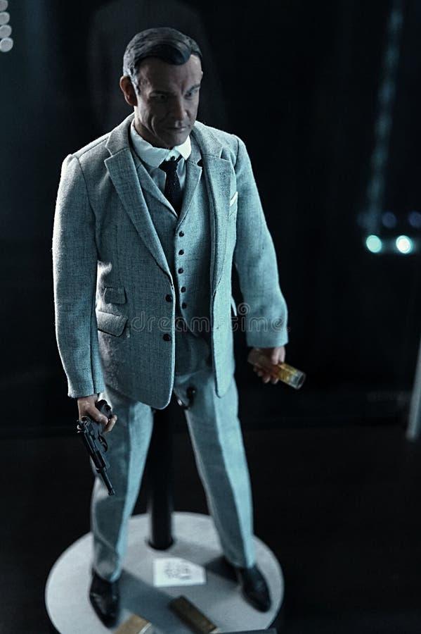 James Bond fotografía de archivo