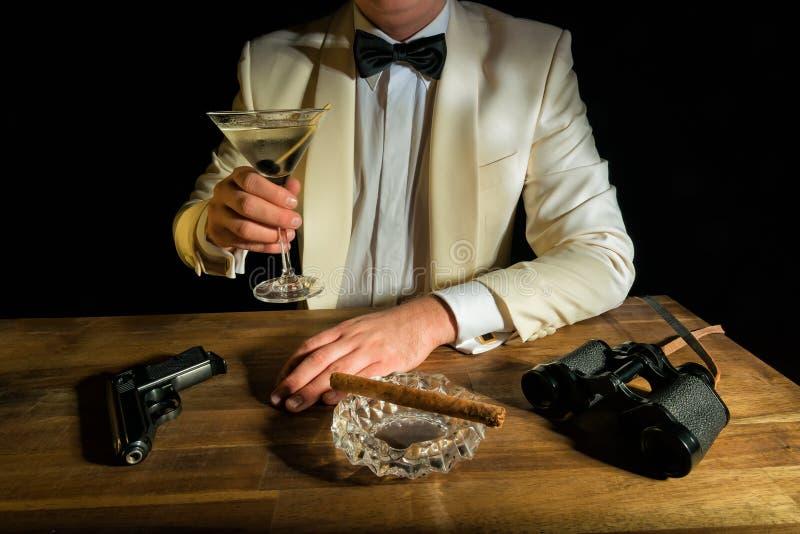 James Bond foto de archivo libre de regalías