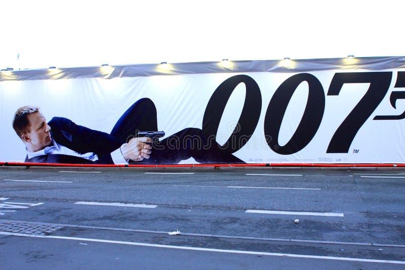 James Bond imágenes de archivo libres de regalías