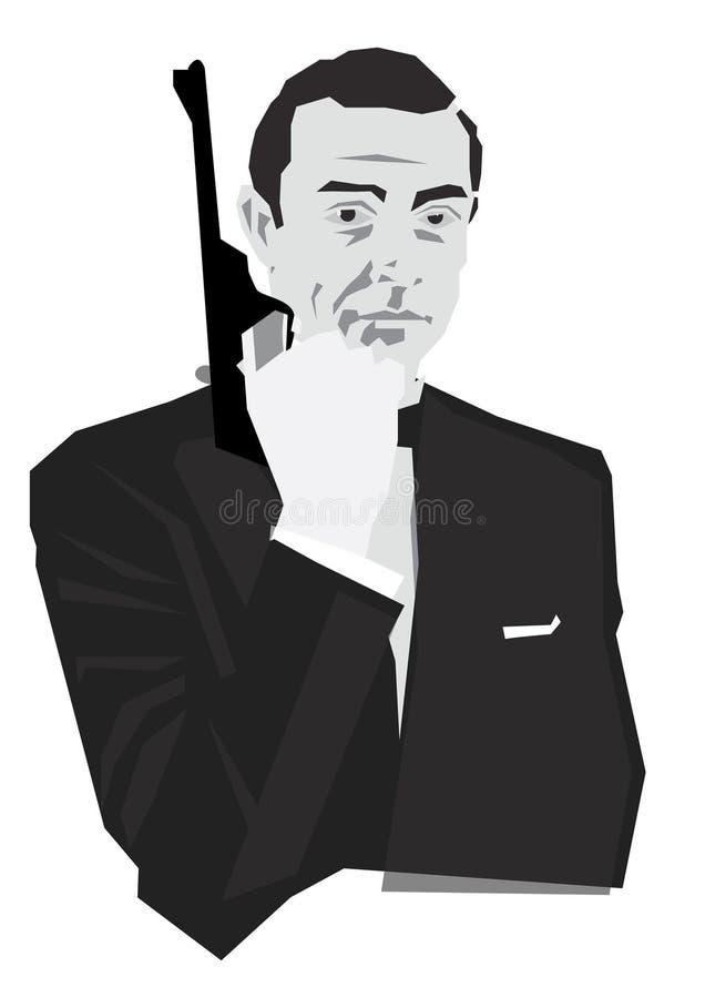 James Bond Cartoon Stock Illustrations 26 James Bond
