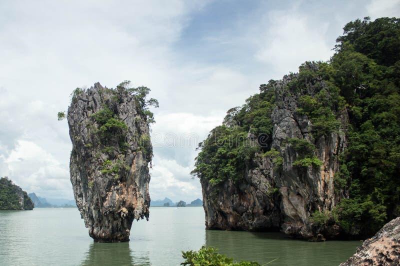 James Bond Island famoso, Phuket, Thailand-3 imagens de stock royalty free