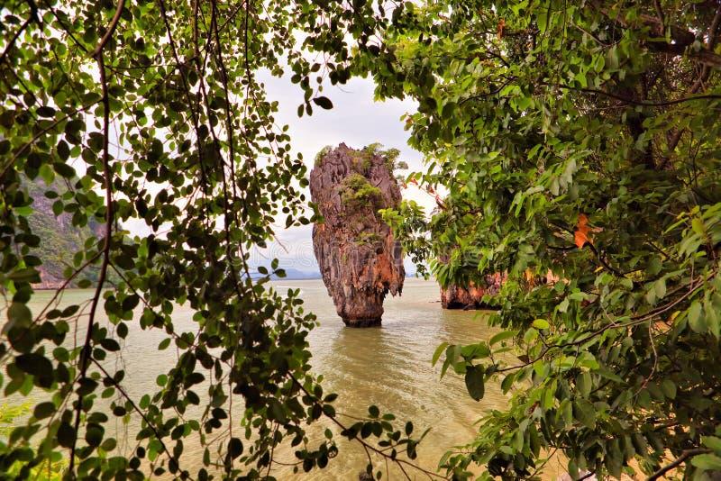 James Bond Island, Phang Nga royalty free stock images