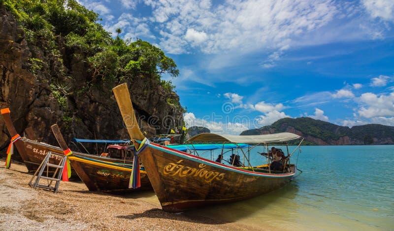 James Bond Island, Phangnga-Bucht Thailand stockbilder