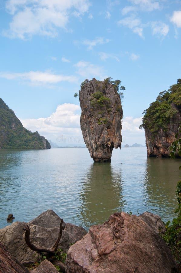 Download James Bond island stock photo. Image of landscape, lagoon - 31098248