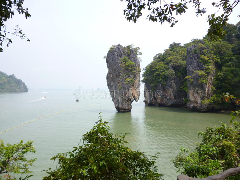 James Bond Island, Thaïlande photos stock