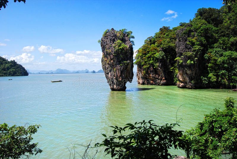 Download James Bond Island In Thailand Stock Photo - Image: 15958822