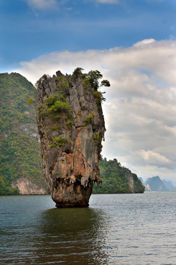 Download James Bond Island In Thailand Stock Image - Image: 22829833