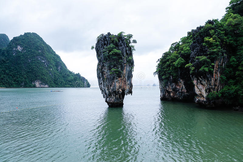 Download James Bond Island stock image. Image of crystal, palm - 31436305