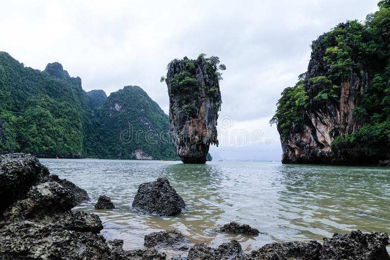 Download James Bond Island stock photo. Image of sand, relax, resort - 31436326
