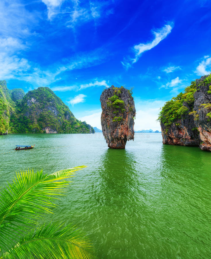 Download James Bond island Thailand stock image. Image of lagoon - 30718493