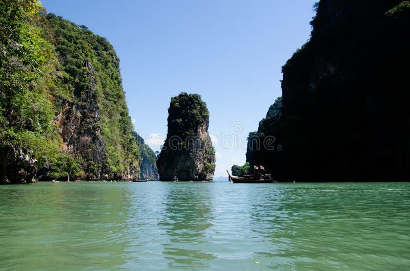 James Bond Island, Thailand stock photos