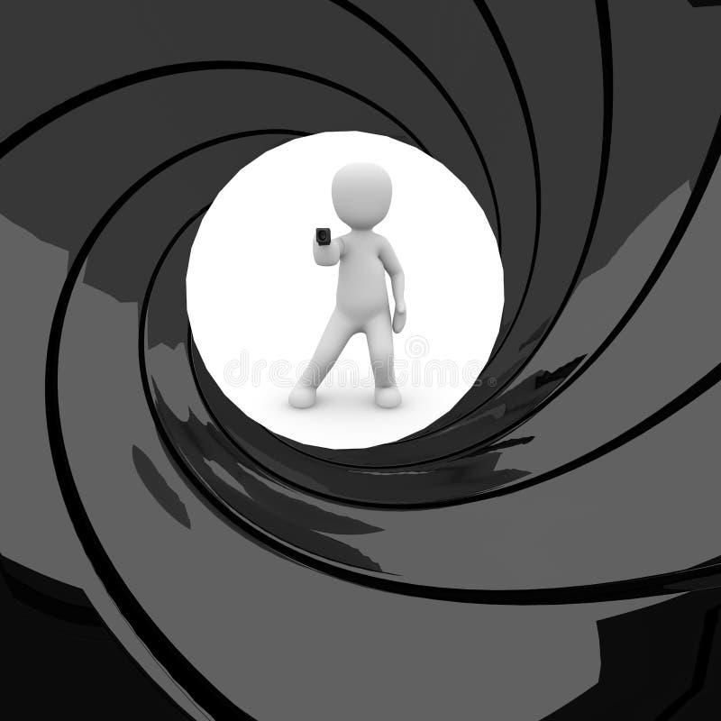 Download James Bond 007 stock illustration. Image of industry - 30127576
