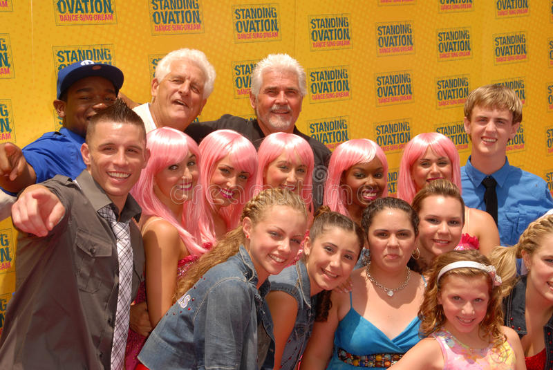 James Brolin and cast of Standing Ovation. At the 'Standing Ovation' Los Angeles Premiere, Universal CityWalk AMC Theatres, Universal City, CA. 07-10-10 stock photos