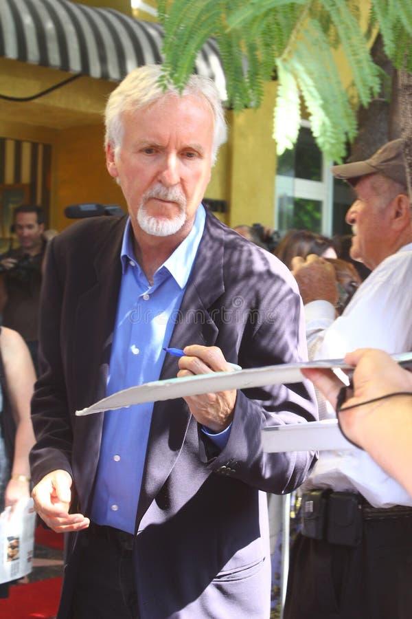 James Cameron foto de archivo