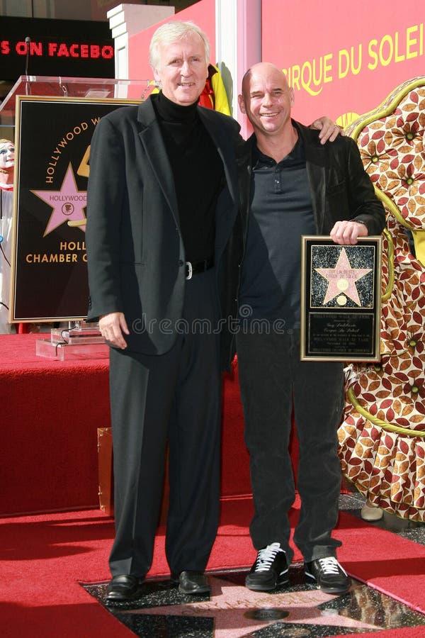 James Cameron, facet Laliberte obrazy royalty free