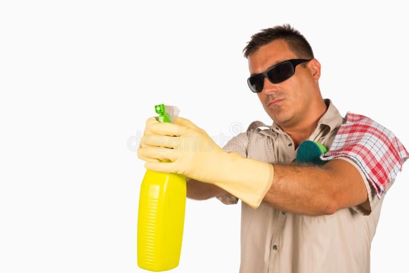 James Cleaning Bond photographie stock libre de droits