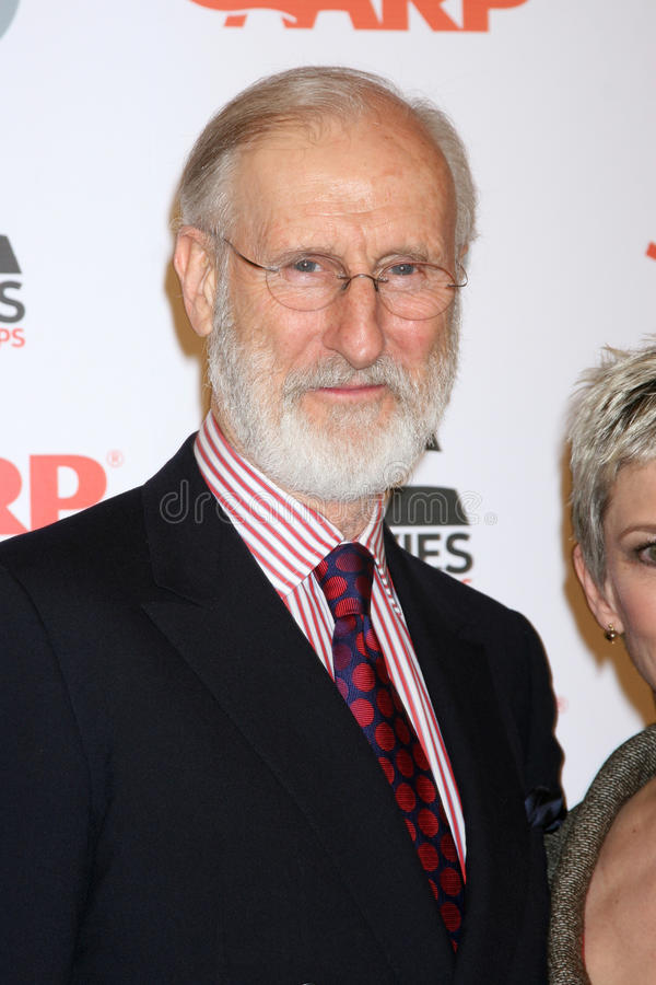 James Cromwell immagine stock
