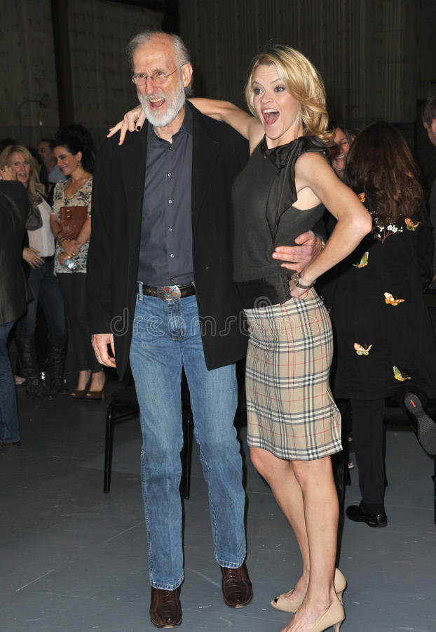 James Cromwell, Missi Pyle royalty-vrije stock foto's