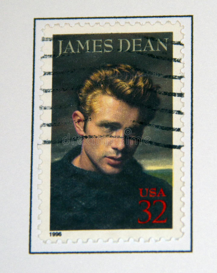 James Dean fotografia de stock