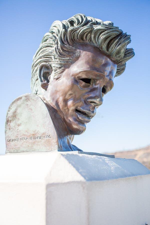 James Dean Memorial fotografia stock