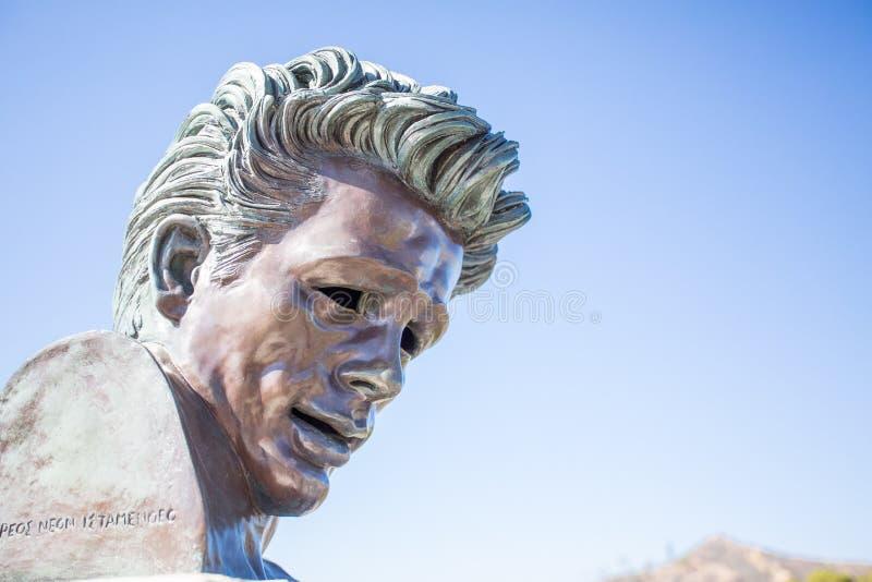 James Dean Memorial immagini stock libere da diritti