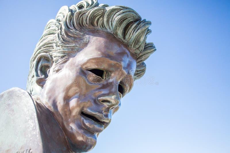 James Dean Memorial immagine stock libera da diritti
